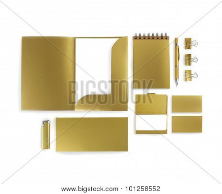 Golden Corporate Identity