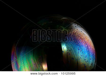 Colorful Soap Bubble Macro