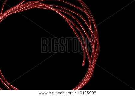 Abstract Red Swirl Pattern