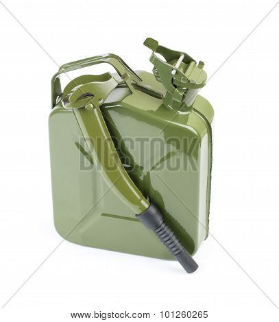 Jerrycan With Flexi Pipe Spout.