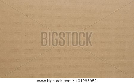Corrugated Cardboard As Background.