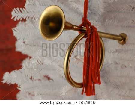 Holiday Horn Ornament