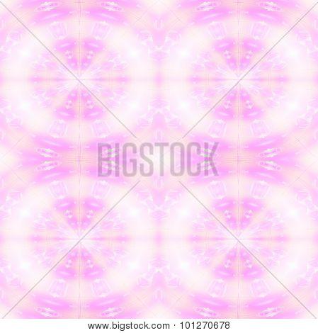 Seamless circle pattern pink violet