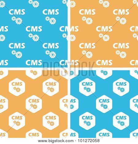 CMS settings pattern set, colored