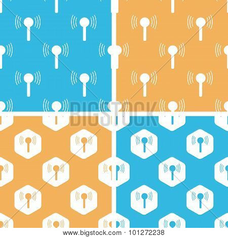 Signal beacon pattern set, colored