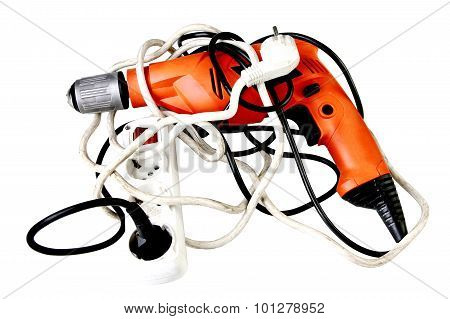 Battery screwdriver or drill