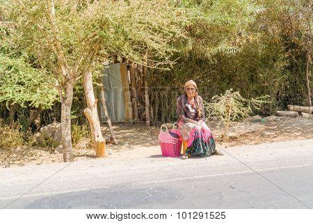 Young Ethiopian Woman
