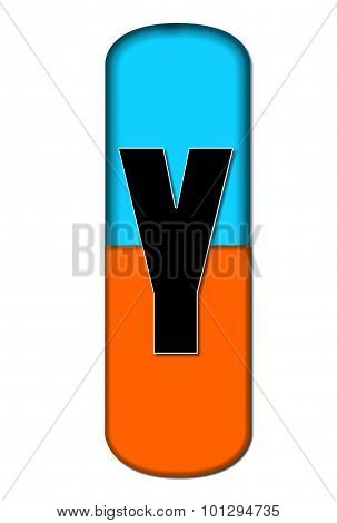 Alphabet Capsule Y
