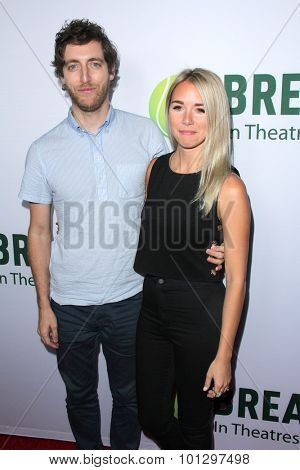 LOS ANGELES - AUG 27:  Thomas Middleditch, Mollie Middleditch at the