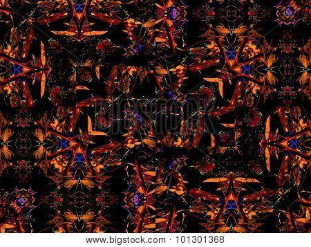Intricate Geometric Fractal