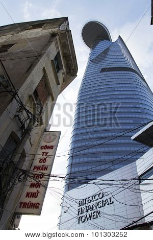 Ho Chi Minh City - February 4: The Tallest Building In Ho Chi Minh City (saigon) - Bitexco Financial