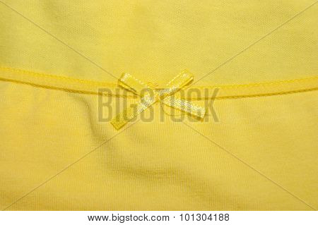Textile And A Bow