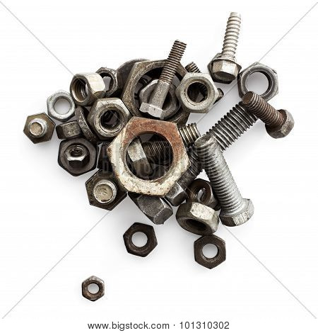 Old Bolts And Nuts