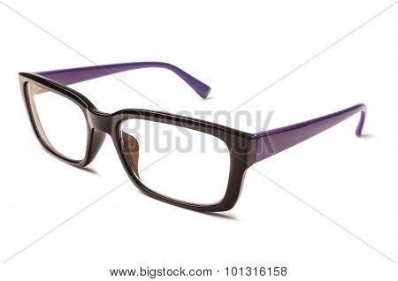 Pink and Black Eye Glasses
