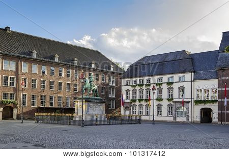 City Hall Of Dusseldorf, Germany