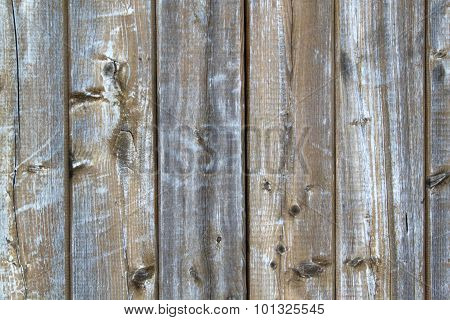 Aged Wooden Painted Background