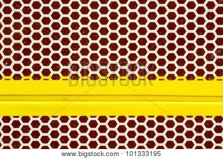 Macro Abstract Of A Matchbox Strike Surface
