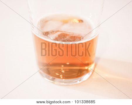 Retro Looking Ale Beer