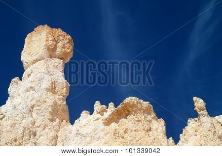 Pinnacle in Bryce Canyon National Park, Utah, Usa