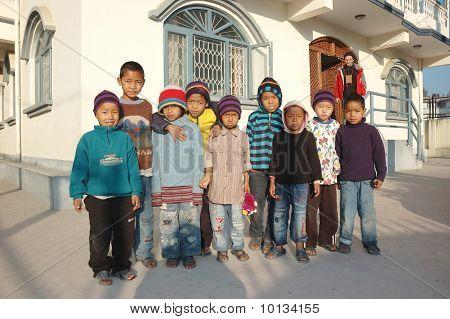 Orfanato en Kathmandu, Nepal