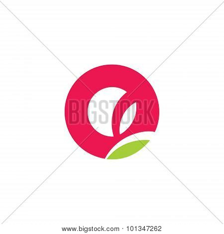 Bud Tulip Sign. Vector Illustration.