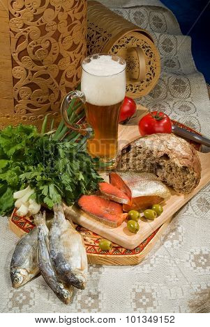 Beer, Bread And Fish