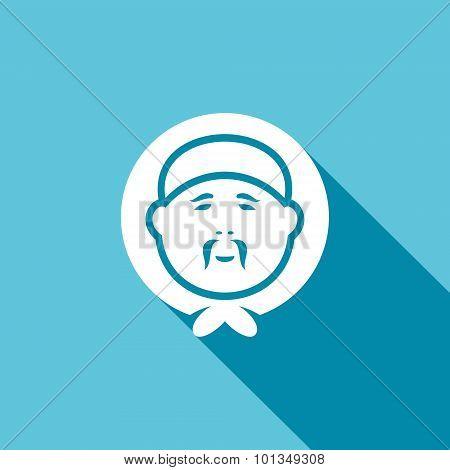 Eskimo Icon. Vector Illustration.
