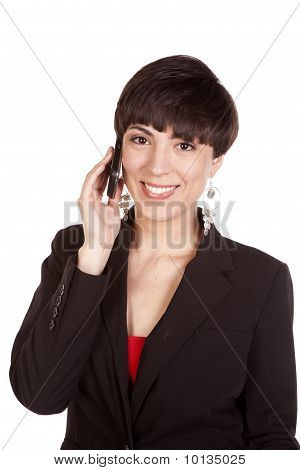 Happy Woman Phone