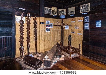 Exhibits Of Etnography Museum In Ambohitrahanga