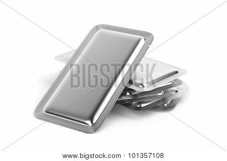 Silver Foil Sachets