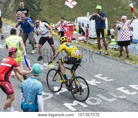 The Cyclist Chris Froome - Tour De France 2015