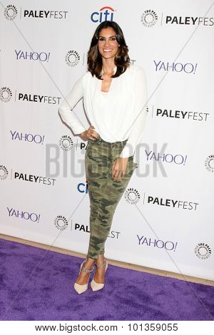 LOS ANGELES - SEP 11:  Daniela Ruah at the PaleyFest 2015 Fall TV Preview - NCIS: Los Angeles at the Paley Center For Media on September 11, 2015 in Beverly Hills, CA