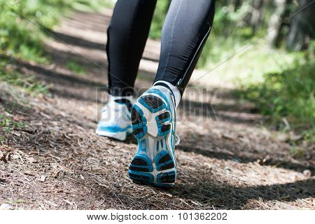 Trail Running Or Trail Walking