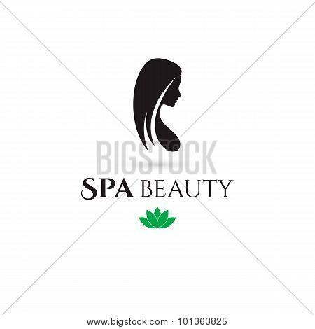 Spa and Beauty company logo. Vector