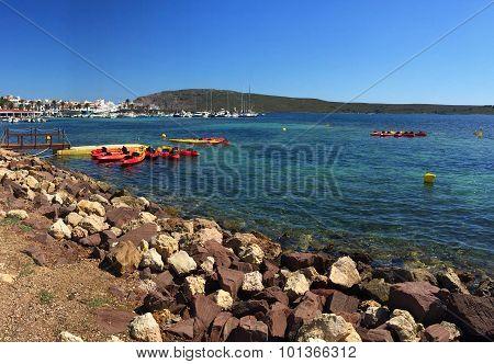 Port of Fornells (Menorca-Spain)