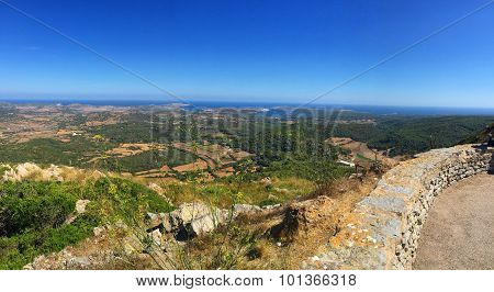 Menorca view's from Monte Toro
