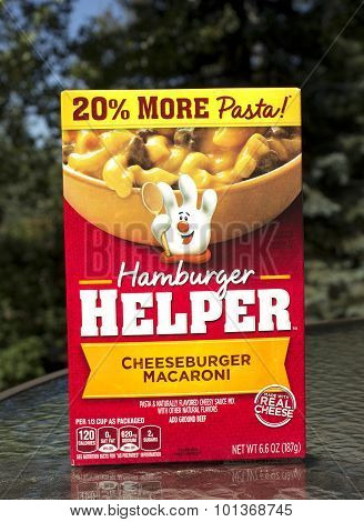 Hamburger Helper Box