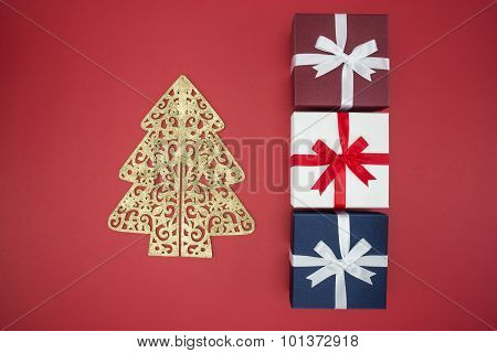 Gift Box For Christmas Day Sale And Shopping Boxing Day