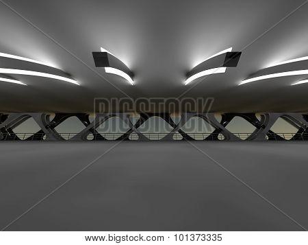 bridge 3D rendering