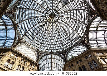 Galleria Vittorio Emanuele  In Naples