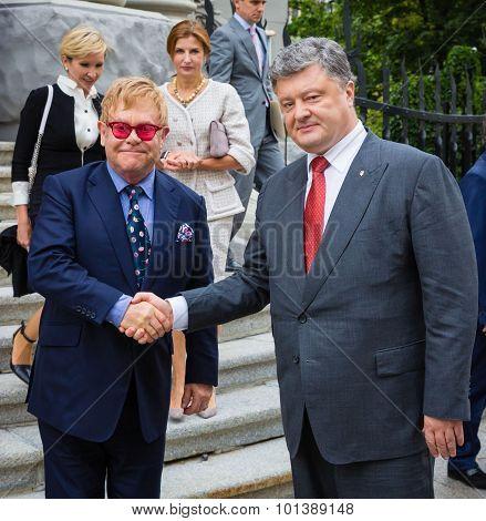 Elton John In Kiev