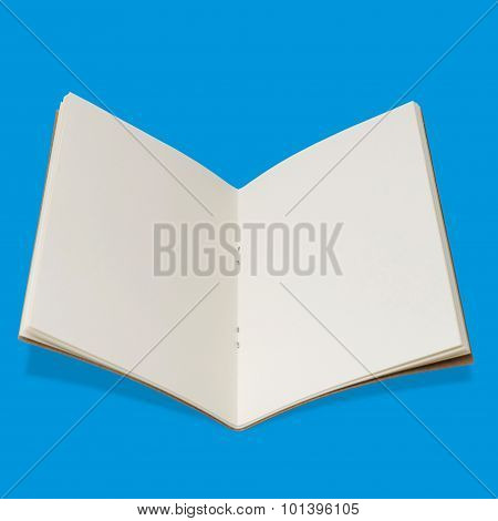 Opened Sketchbook