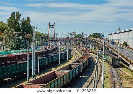 Odessa Port Railway Infrastructure