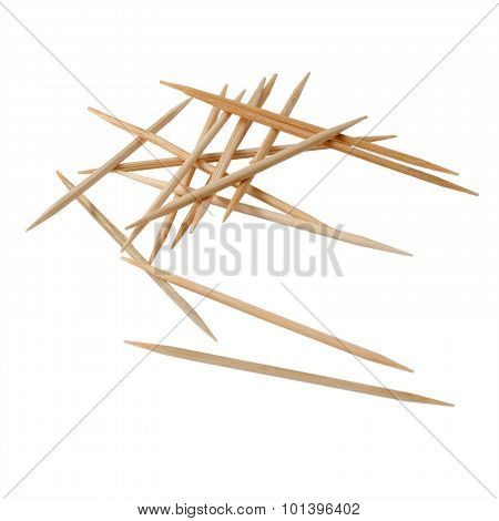 Isolated Toothpick