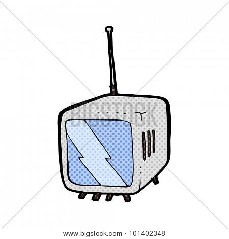 comic book style cartoon television