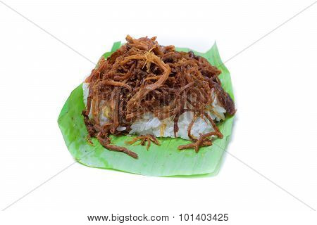 Shredded Pork With Sticky Rice