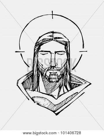 Jesus Serene Face