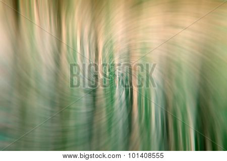 Twirl swirl abstract green background