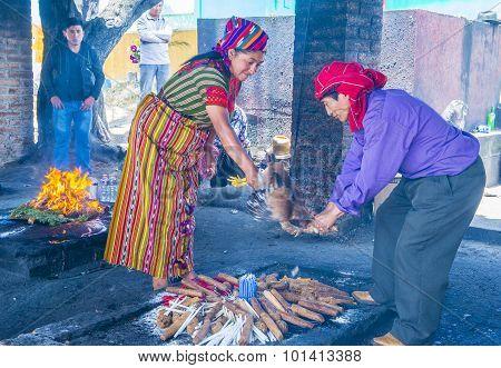 Mayan Ceremony