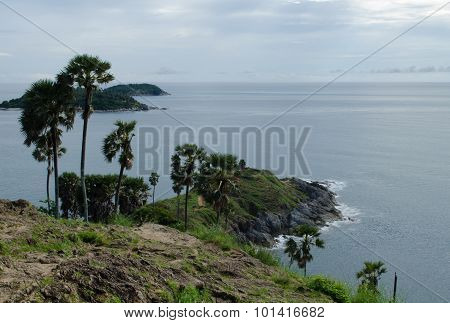 Cape Of Phuket,thailand (promthep Cape)